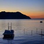Portonovo al tramonto